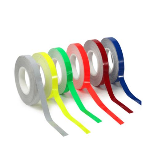 Adesivo para roda verde fluorescente