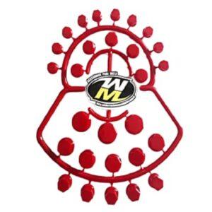 Capa De Parafuso De Moto 56 Peças