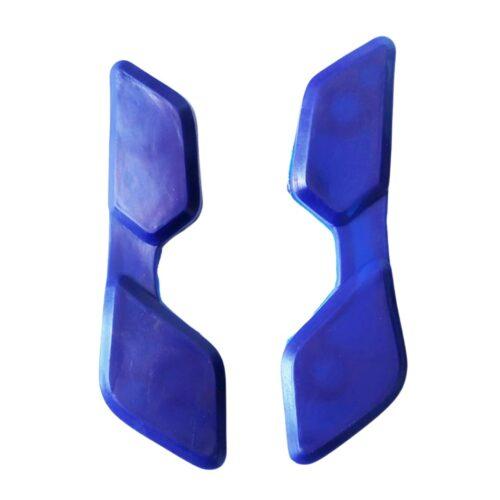 Borracha do bagageiro da Bros azul